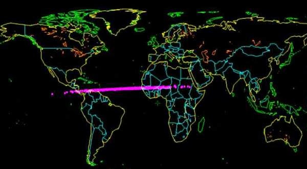 Asteroid yang Jatuh di Samudera Atlantik Diklafikasi