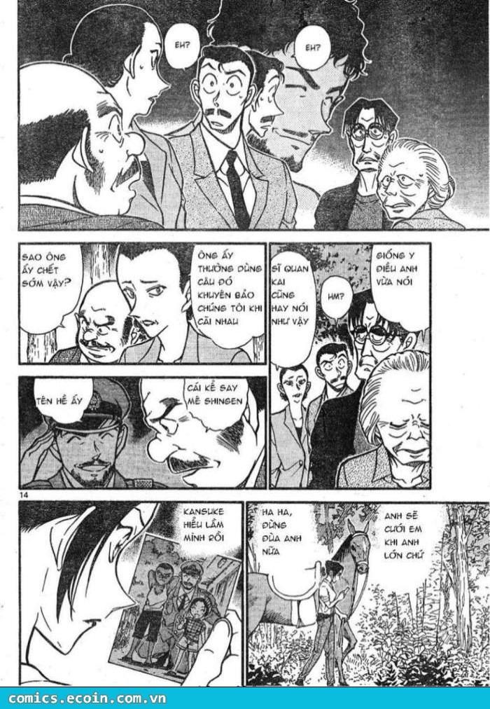 Detective Conan - Thám Tử Lừng Danh Conan chap 616 page 14 - IZTruyenTranh.com