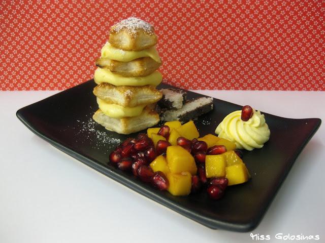 X-Mas, Dessert, Weihnachtsdessert,