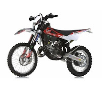 Husqvarna WR125 With Racing Kit (2013) Front Side