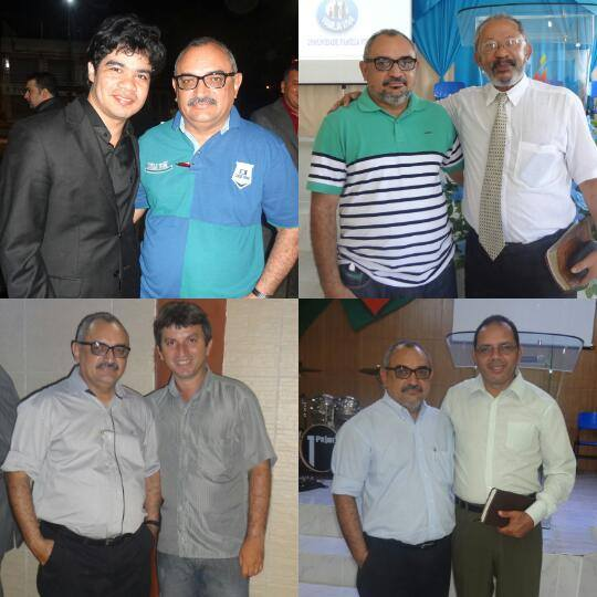 Samuel Mariano, Osvaldo Filho, Tarcisio Franco e Clenivaldo Silva