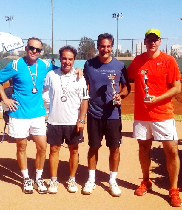 ITF SENIORS G3 - VIÑA DEL MAR - CAMPEONES