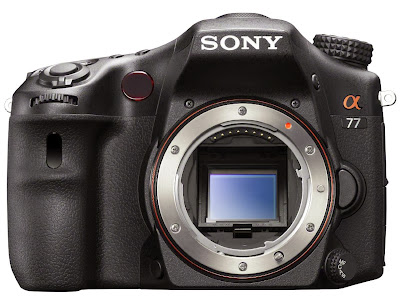 Sony Alpha SLT-A77 Digital SLR Camera body view