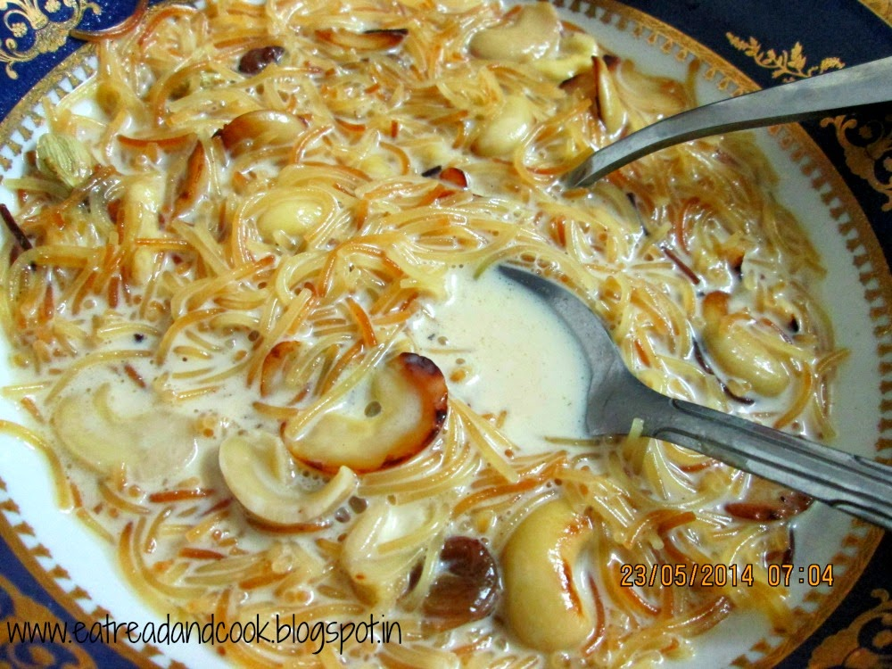 how to cook Semiya Payasam