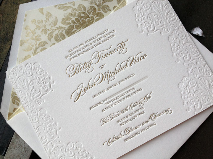 High Quality Elegant Wedding Invitations
