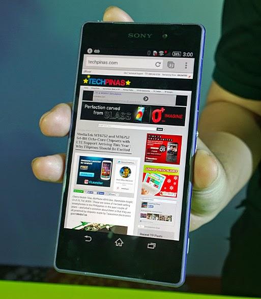 Sony Xperia Z2, Sony Xperia Z2 Philippines
