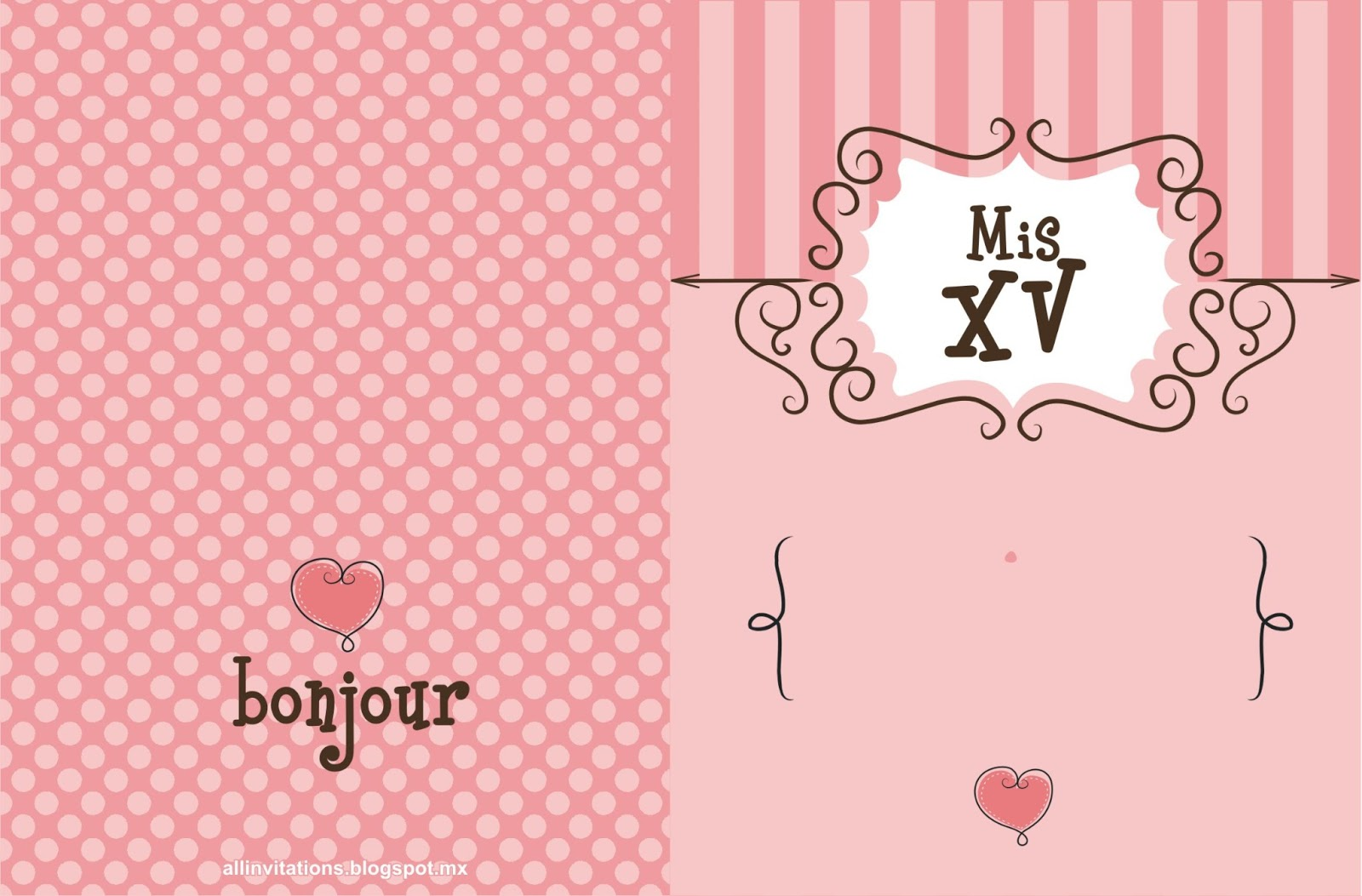 Tema Paris para XV Años | All Invitations