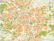 The following is a low resolution version of a Paris France map from . (map of paris france low res)