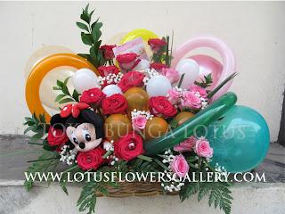 karangan Bunga Untuk Kado Bayi perempuan cewe