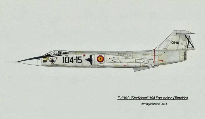 Los dibujos de Armagedoncan Armagedoncan+F-104+Starfighter
