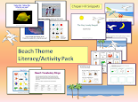 Beach Literacy/Activity Pack--Now is the season!