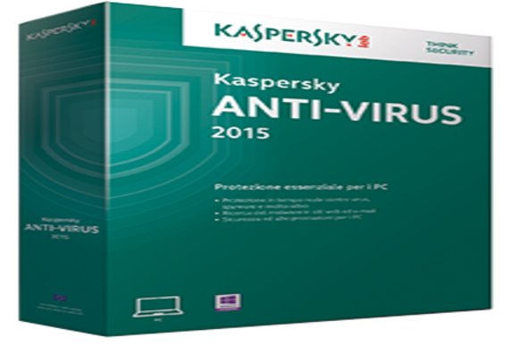 Kaspersky Antivirus Virus 2015 incl 3 Years License