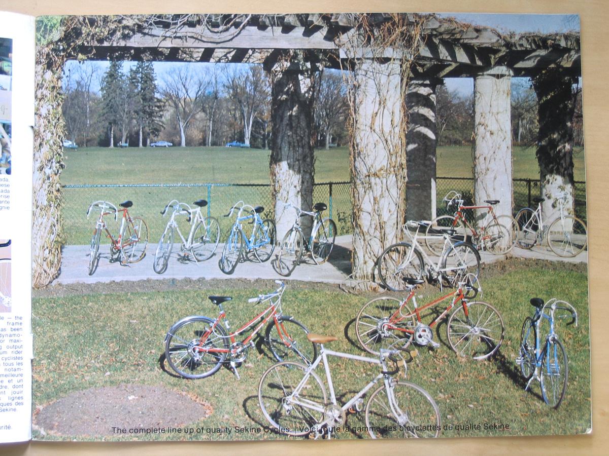 the sekine project sekine cycle 1975 catalogue. Black Bedroom Furniture Sets. Home Design Ideas