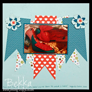 These Shoes Scrapbook Page by Bekka www.feeling-crafty.co.uk