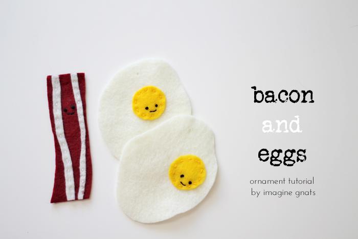 Diy felt bacon and egg ornaments imagine gnats diy felt bacon and egg ornaments solutioingenieria Choice Image