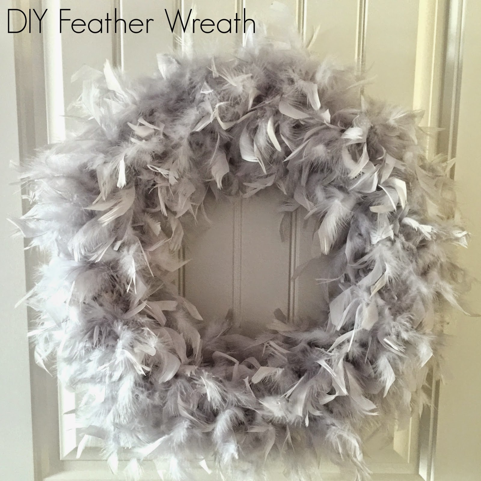 DIY Feather Wreath