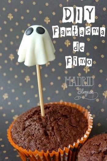 DIY Fantasma de Fimo