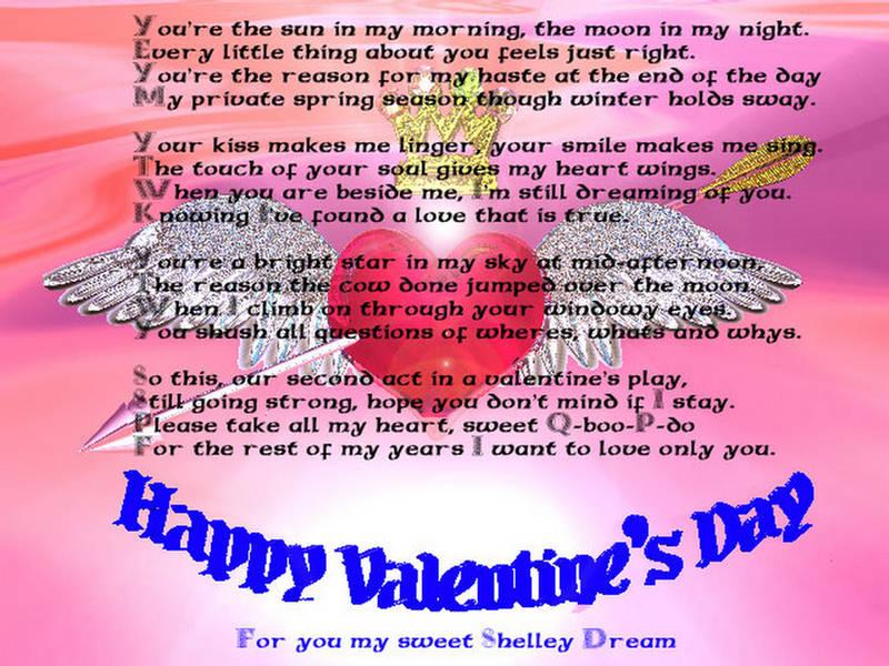 Funny Funny Valentine Poems