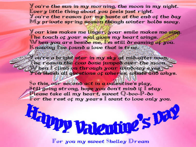 happy valentines day poems 2011. Valentines Day Poems - Poetry
