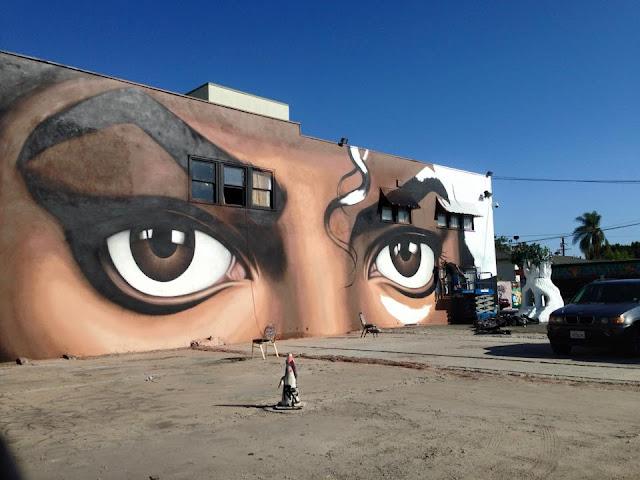 Espa o michael jackson michael jackson ganha novo mural for Jackson 5 mural