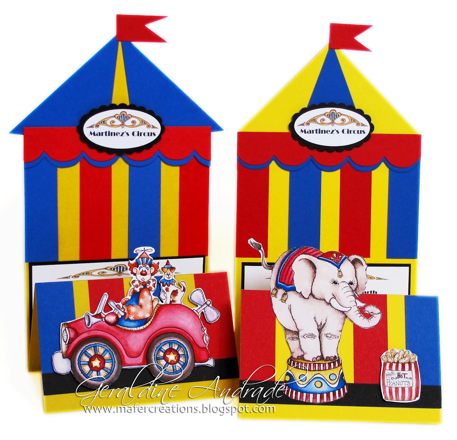 Circus Invitation is great invitations example