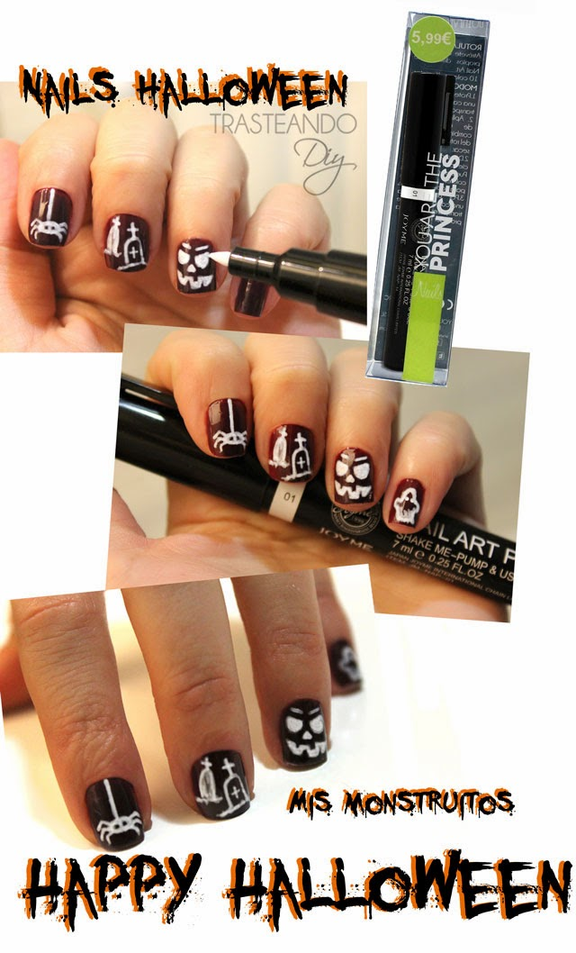 DIY NAILS HALLOWEEN