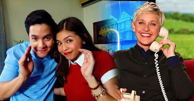 Ellen DeGeneres Invites AlDub On Her Show