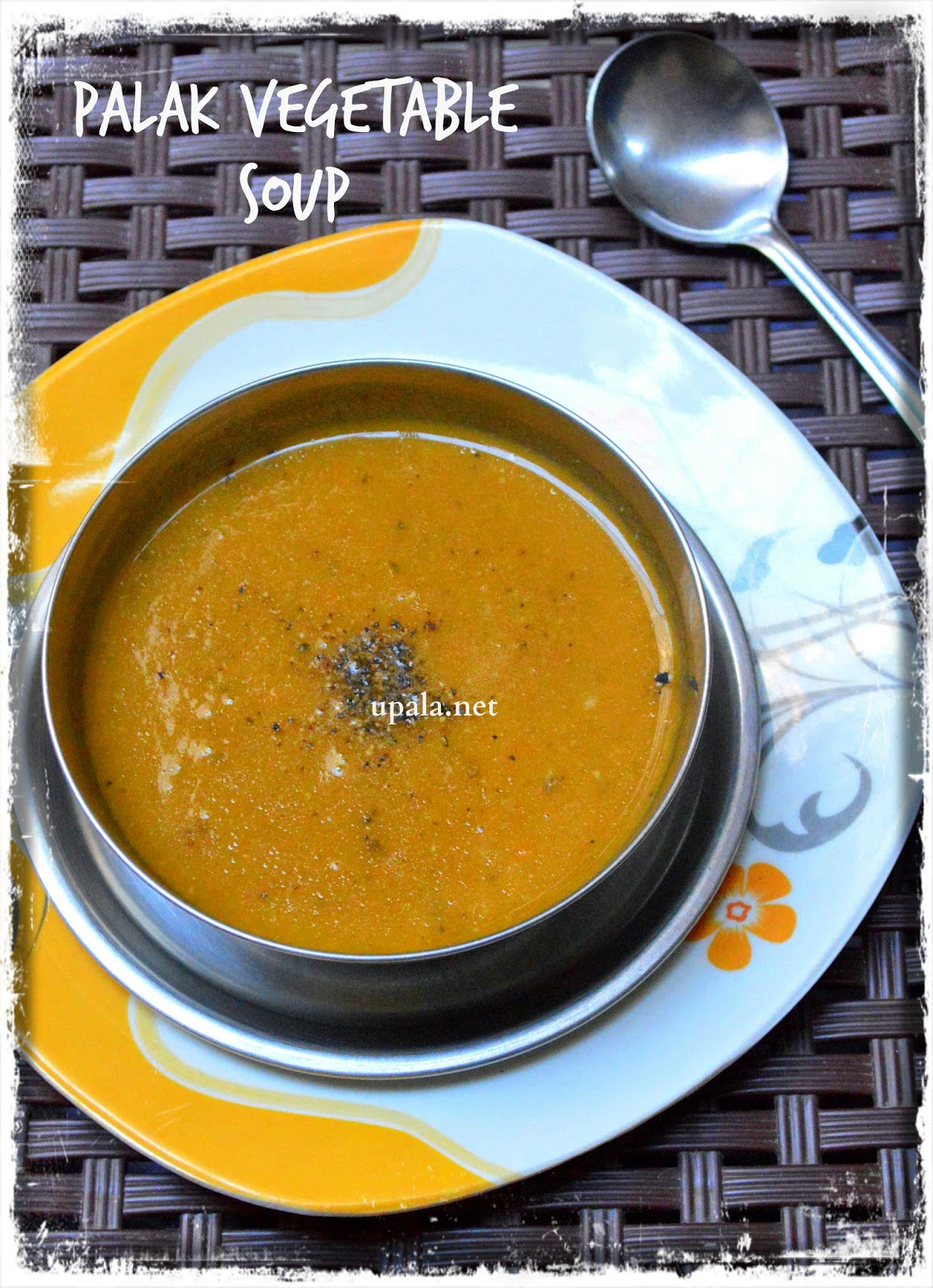 Palak Vegetable soup