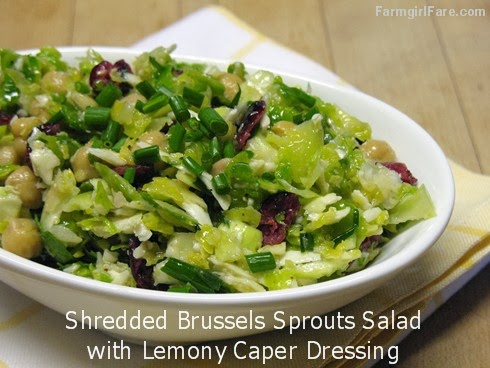 Recipe: Shredded Raw Brussels Sprouts Salad with Pecorino Romano ...