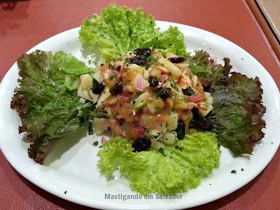 Restaurante Carro de Boi: Salada de Salmão