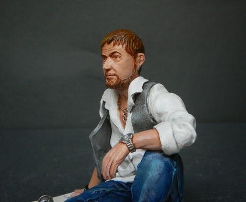 statuine con volto somigliante cake topper realistico foto orme magiche