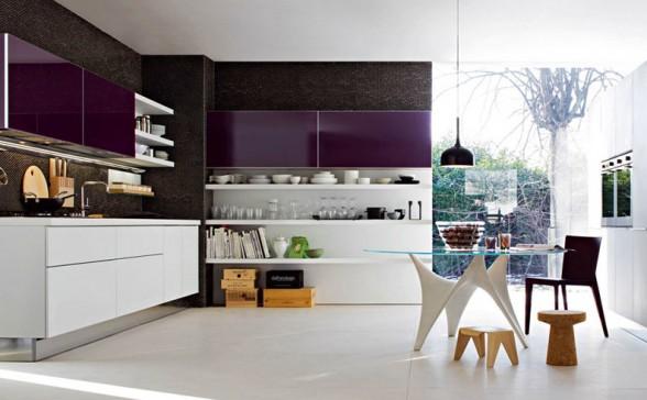 quiero mostrarles una galeria de fotos de cocinas modernas lo que se va usar y va estar de moda en este ao 2013 espero que les guste tanto como a mi - Cocinas Modernas Italianas