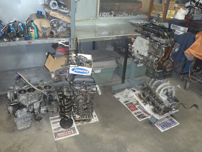 Engine builder shop