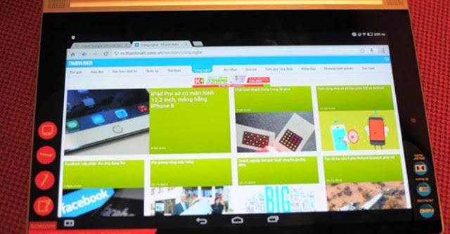 Lenovo Yoga Tablet 2 Pro tích hợp máy chiếu xuất hiện tại Việt Nam