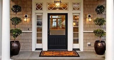 Fotos y dise os de puertas dise os de puertas de madera - Puerta de madera exterior ...