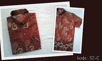 Baju Batik Pria 52-C