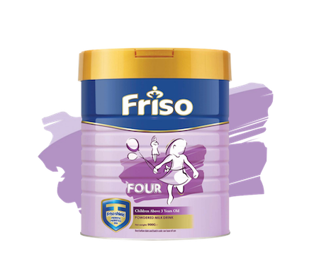 Milk for Children and Kids - Friso Four