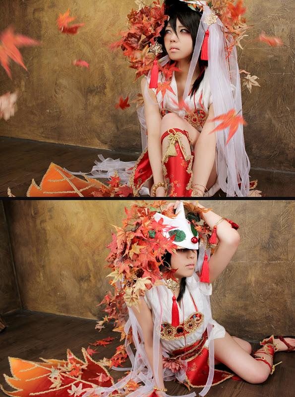 CosRain.Com EKI's COSPLAY - Shiro Yoshiwara