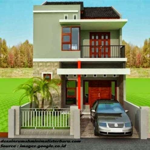 desain rumah minimalis 2 lantai 1