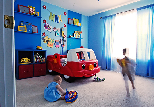 Boys Transportation Bedrooms | Room Design Inspirations