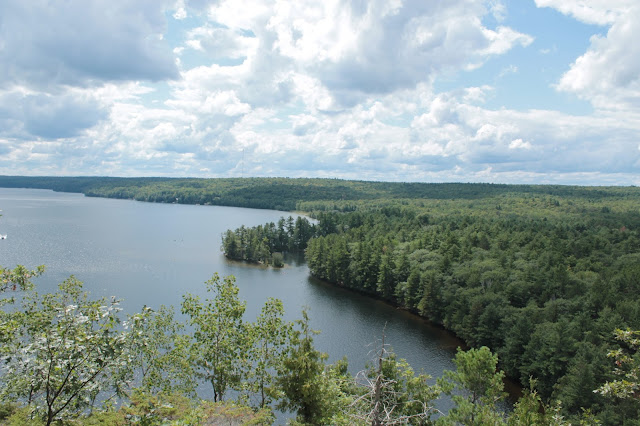 view of mazinaw lake [bon echo]