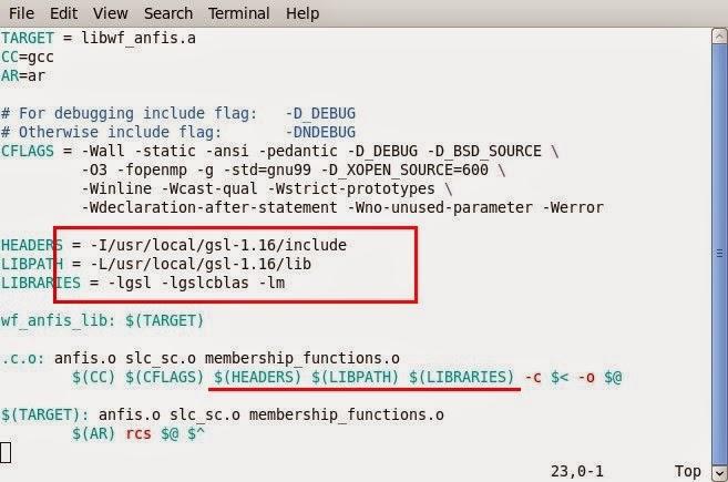 Wave & Fractals: Using GSL 1 16 on CentOS 6 5