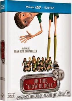 Baixar Um Time Show de Bola BDRip AVI Dual Áudio + Bluray 3D Dublado 720p e 1080p Torrent