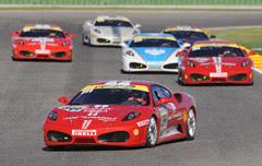 ferrari challenge en cheste Superstars Series y Ferrari Challenge el 07.y 08.de Mayo en Cheste de Valencia