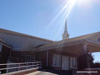 First Baptist church Tahlequah