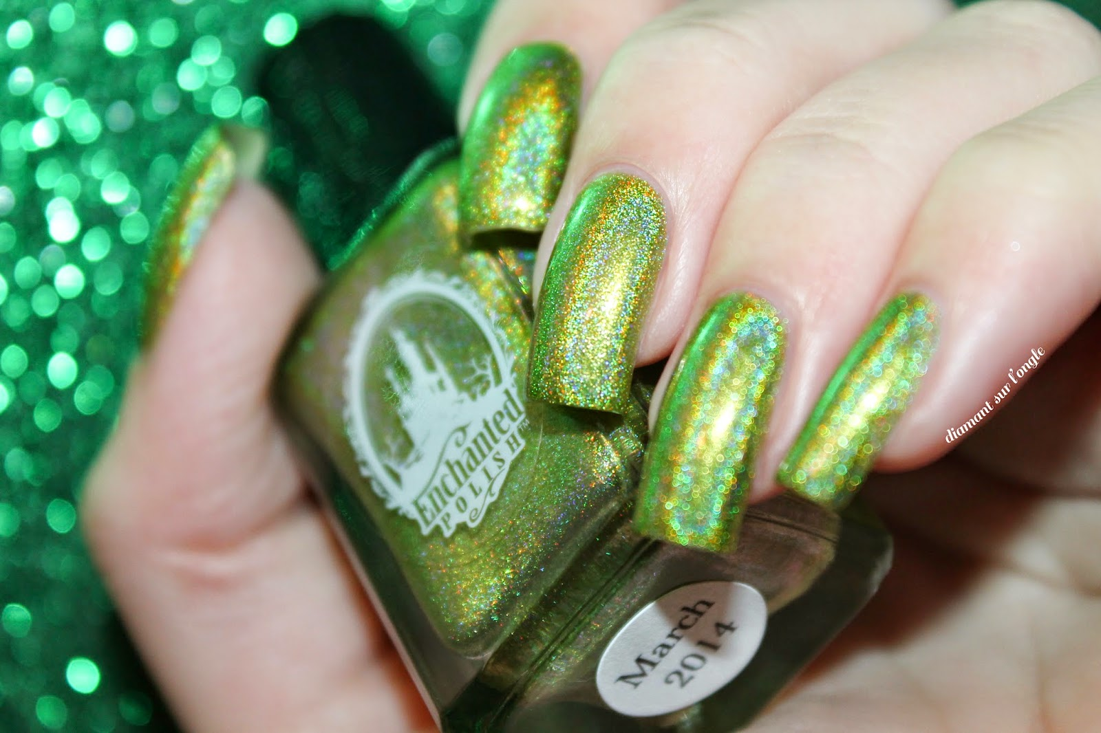 Swatch of March 2014 by Enchanted Polish
