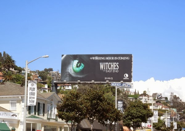 Witches of East End Witching hour teaser billboard