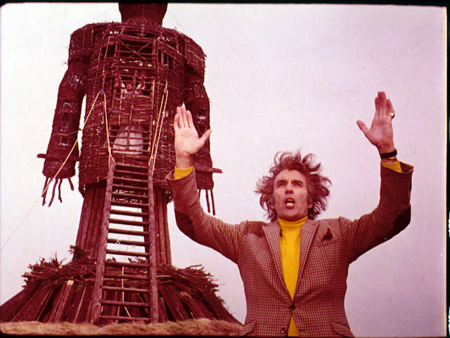 The Wicker Man Final Cut Christopher Lee