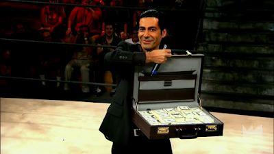Lucha Underground briefcase of cash