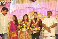 Celebraties at Actor Bharat n Jessy Wedding Reception Photos+%252855%2529 Actor Bharath n Jessy Wedding Photos